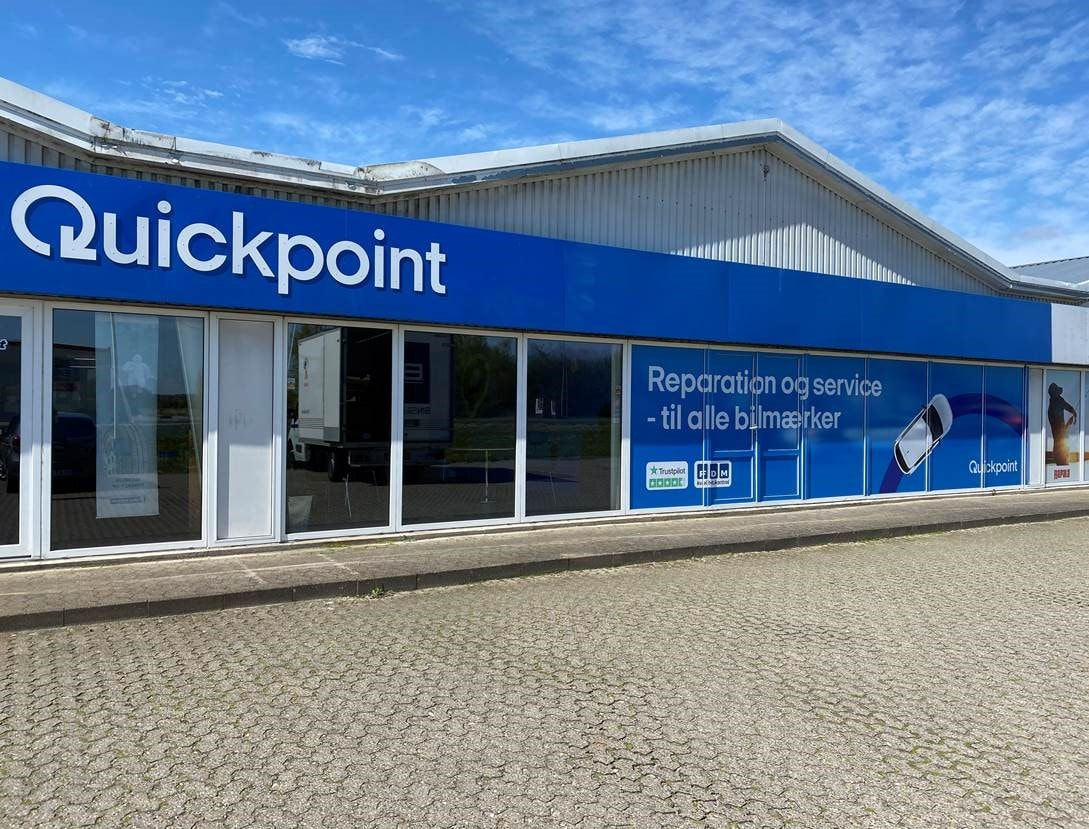 Picture of: Autovaerksted Randers Quickpoint Randers Daekcenter