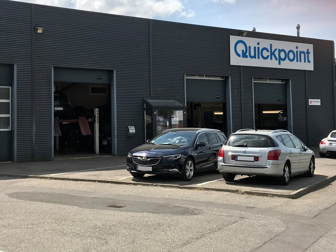Picture of: Autovaerksted Aalborg Quickpoint Aalborg Daekcenter I Aalborg
